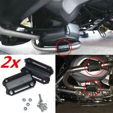 2x 25mm Motorrad Motorrahmen-Schutz Sturzpads Universal für BMW Honda KTM Yamaha
