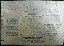 US ARMY ESCAPE EVASION CHART MAP EVC NJ-38A IRAQ IRAN SYRIA 2002 OIF
