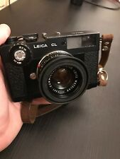 Leica CL 35 mm Rangefinder Film Camera with 40 mm f/2 Summicron-C