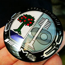Black Appletree AMG Steering Wheel Badge 5.2cm Emblem Sticker For Mercedes Benz