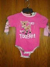 "BUCK WEAR ""TINY BUT TOUGH"" Girls 18month One piece NWT"
