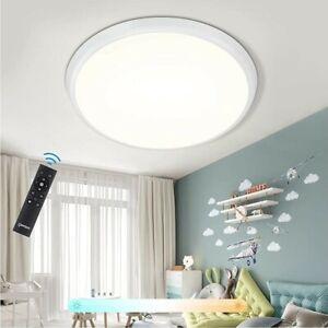 Plafoniera LED Dimmerabile, 36W 4000LM Lampada da soffitto IP54 Impermeabile