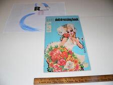 Vntg 1960s Lisa'S Rave Dressing Paper Doll Cute