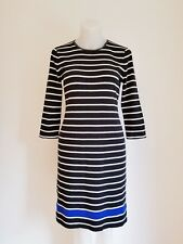 LAUREN Ralph Lauren, 3/4 Sleeve Dress, Striped, M