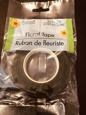 New in Box Gold Glitter Floral Tape Stemsationals 6 rolls Holiday Flower wrap