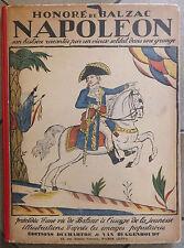 Honoré de Balzac Napoléon son histoire racontée par un vieux soldat Livre 1927