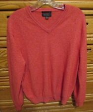 Cashmere Coral Sweater Holes Sewing Upcycle DAMAGED Cutter Scrap Craft Repair