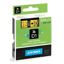 DYMO S0720730 (40918) Nastro nero su giallo 9mm x 7m per LabelManager PnP