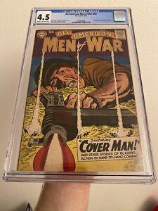 ALL AMERICAN MEN OF WAR #67 CGC 4.5 (DC 1959) 1st GUNNER & SARGE! KEY DC COMIC!