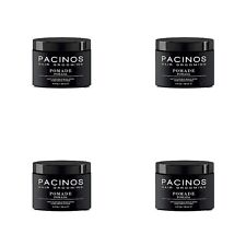4 X Pacinos Hair Grooming Pomade For Firm Flexible Hold/Semi Shine Finish 118ml