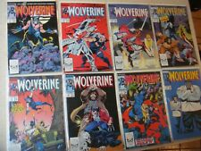 92 issues Wolverine lot complete full set 1 through 90 Near Mint 1988 1st Series