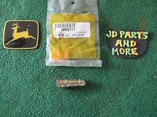 NEW OEM JOHN DEERE TRACTOR STEERING PUMP CHECK VALVE AR88771 MODELS BELOW