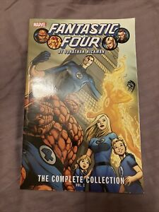 Fantastic Four By Jonathan Hickman complete collection Volume 1