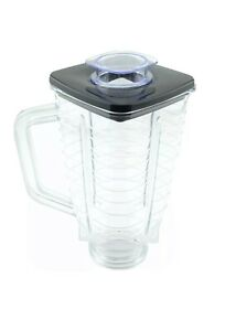 5  Cup Square Plastic Jar With Lid  For Oster Blender