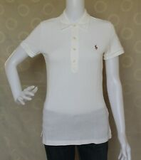 Ralph Lauren White Polo Shirt Tops