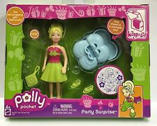 New Polly Pocket: Wrap n Go - Party Surprise Play Set - Polly