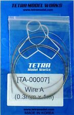 TETRA MODEL WORKS 1/35th Scale Braided Wire Size A .30mm x 1.0m Item TA7