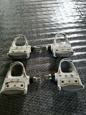 2 sets Vintage Shimano PD-6401 Bicycle Pedals 9/16 Used