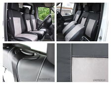 Tailored seat covers for Mercedes Sprinter W906 2015  Leatherette + Alcantara