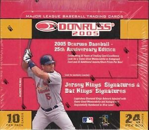 2005 Donruss Baseball Complete Your Set Pick 25 Cards From List