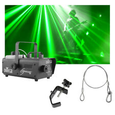 Chauvet DJ Lighting Hurricane 1000 Compact Fog Machine w/ Clamp & Cable Package