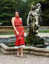 NEW Forever Unique Lace Fishtail Midi Dress, Fuchsia, Size 8, RRP £120