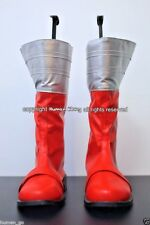 Gokai Red Cosplay Boots Mens Size US9/27cm