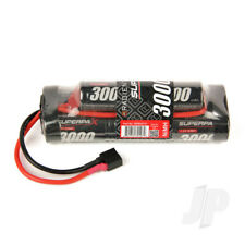 Radient NiMH Battery 9.6V 3000mAh SC 6-2 Hump Pack Deans HCT T-style Connector P