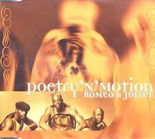 Poetry'n'Motion - Romeo & Juliet ° Maxi-Single-CD von 1997 ° WIE NEU °