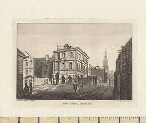 1784 Georgianisch Aufdruck ~ Christus Krankenhaus London