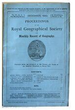 1890 Obituary - EXPLORER RICHARD FRANCIS BURTON - Original Wrappers - 12