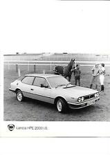 LANCIA HPE 2000 IE ORIGINAL PRESS PHOTO 'BROCHURE RELATED'