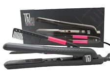 New Women Travel Box Kit Professional Ceramic Iron Hair Comb Anti Static Style