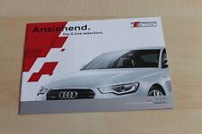 148110) Audi Q3 A4 A5 A6 A7 - S Line Selection - Prospekt 04/2013