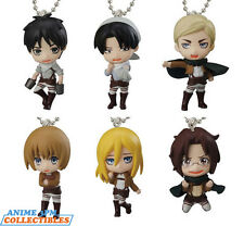 Bandai Attack on Titan - Swing 2 Chibi Mascot Cellphone Charm (Single Blind Box)