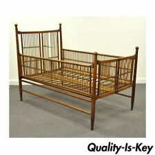 Dark Wood Tone Antique Beds Bedroom Sets Ebay