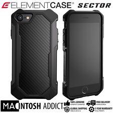 Element Case SECTOR Case For iPhone 7 BLACK | MIL-SPEC | TPU Carbon Fibre Alu