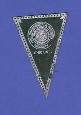 c1910 L51 tobacco leather pennant shaped Ohio University 4