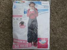 Pantalon SKI Fille 12-24 mois 86/92 cm noir qualité CRIVIT NEUF