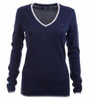 Tommy Hilfiger Damen Pulli, Pullover, Sweater, Große: XX-Small