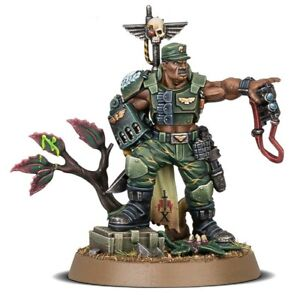 Warhammer 40k AM CATACHAN COLONEL STORE ANNIVERSARY MINIATURE Rare and Limited