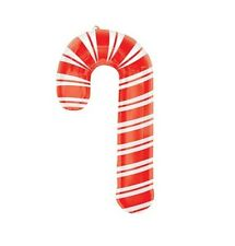 Party Supplies Christmas Santas Workshop Xmas Candy Cane Foil Shape Balloon 93cm