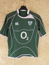 Maillot Rugby IRLANDE IRELAND Canterbury home shirt O2 vert S