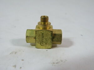 Clippard MSV-1 Shuttle Valve 10-32 Male Outlet 10-32 Female Inlet ! WOW !