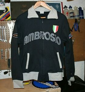 NOS Ambrosio Bicycle Wheels Sweater Jacket, Hoodie GommItailia Bike Shirt Jersey