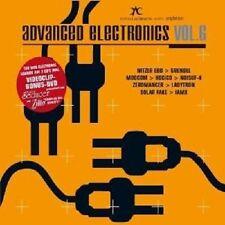 Advanced Electronics vol.6 2 CD + DVD Electro Merce Nuova