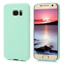 GLOSS SOFT FLEXIBLE SILICONE GEL TPU BACK COVER CASE FOR SAMSUNG GALAXY PHONES
