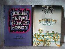 Lloyd Biggle Jr MONUMENT Nebula Award Stories vintage scifi hardcover book lot !