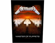 Metallica Master of Puppets Large Backpatch - New - Licensed Product
