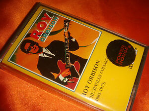 ROY ORBISON, The Singles Collection, original audio cassette, nice used